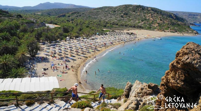 Gde je to u Grčkoj kristalno čisto more?