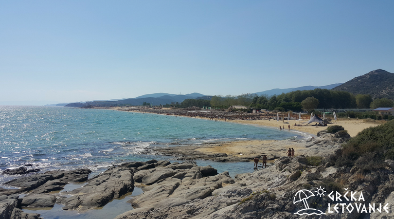 Amolofi plaža - Nea Peramos